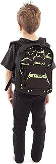 Roca Sax Metallica verde impresión del logotipo de los niños Mochila