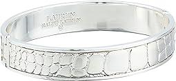 Croc Pattern Bangle Bracelet