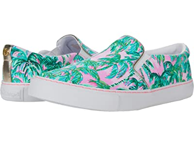Lilly Pulitzer Julie Sneaker (Pink Blossom Suite Views Accessories Small) Women