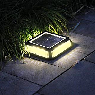 ✂ لمبة إضاءة LED تعمل بالطاقة الشمسية في الهواء الطلق لمبة لمبة للبقع في الحديقة والمناظر الطبيعية في العشب ومقاومة للماء