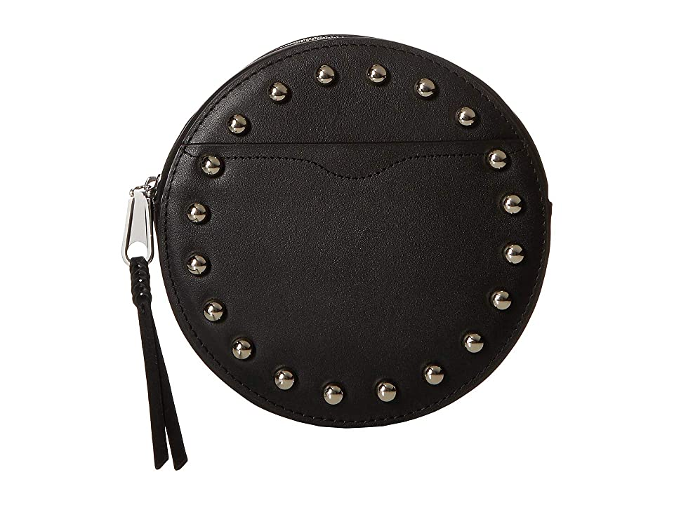Rebecca Minkoff 20 mm Studded Belt Bag (Black) Women