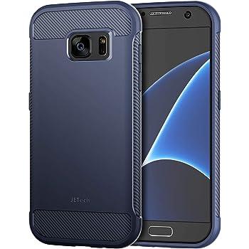 Jetech Funda para Samsung Galaxy S7, Carcasa con Fibra de Carbono ...