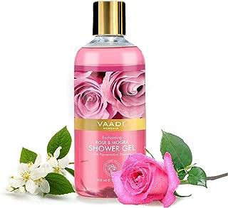 Vaadi Herbals Shower Gel, Enchanting Rose and Mogra, 300ml