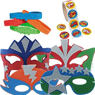 Super Hero Party Favor Supply Pack