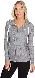 Dry Fit Sweatshirts for Women, Lightweight Zip Up Hoodie Sweater - Full Zip Hooded Jacket