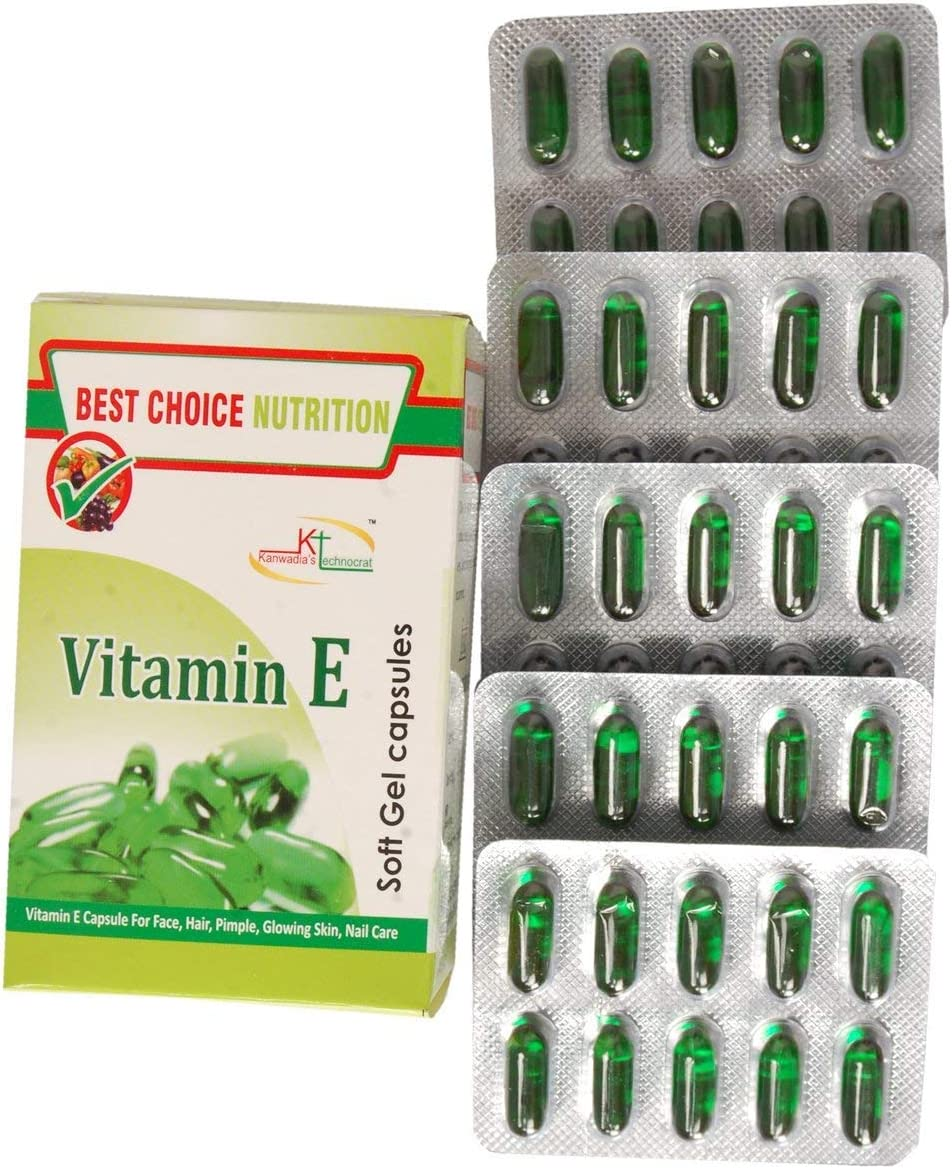 Knot Best Choice Nutrition Pure Vitamin Recommendation Face Genuine Pimp Hair E Capsule