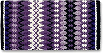 Mayatex Nova New Zealand Wool Saddle Blanket Purpl