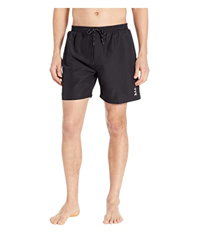 TYR Solid Atlantic Swim Shorts (Black) Men