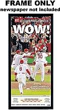 St Louis Post Dispatch - St Louis Cardinals Newspaper Frame