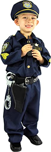 Joyin Toy Spooktacular Creations Deluxe Police Officer Costume and Role Play Kit.