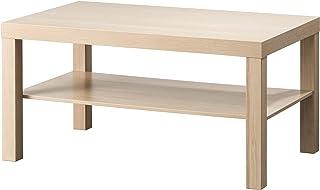 Mesa de centro IKEA LACK 90x55x45 cm blanco efecto roble teñido