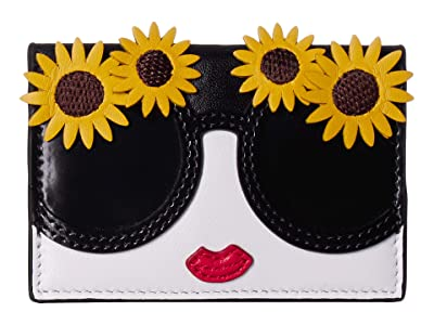 Alice + Olivia Lexi Stace Face w/ Envelope Card Case (Fantasy Stace Face) Handbags