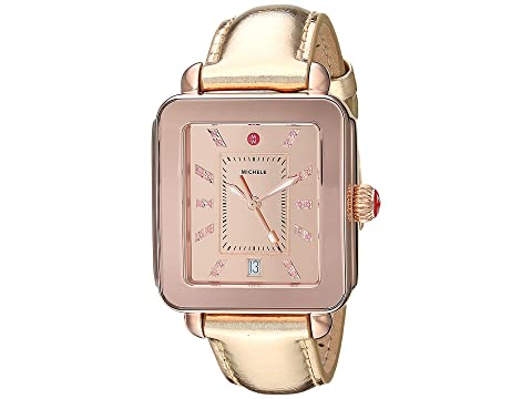 Michele Deco Sport High Shine with Reflector Topring Rose Gold