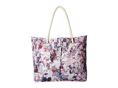 Haiku Caprice Tote (Wildflower Print) Handbags