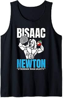 Bisaac Newton Stronger Than Gravity Lifting Apple Tank Top