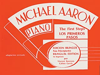 Curso Para Piano Primer: Michael Aaron Piano Course Spanish & English Edition