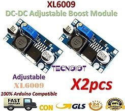 TECNOIOT 2pcs XL6009 DC-DC Booster Module Power Supply Adjustable Super LM2577 Step-up