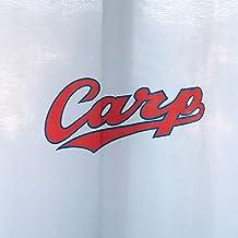 カープカーテン カープロゴバージョンCC-3 店舗や施設でも使用可能な防炎ラベル付 (100×198cm(2枚))