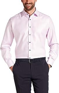 Eterna Long Sleeve Shirt Modern FIT Twill Structured