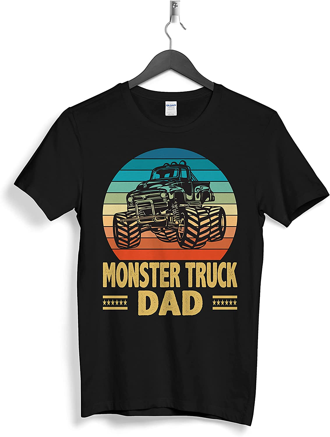 Monster Rruck Family Dad Custom Personalized T-Shirts Gifts