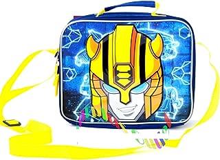 Bumblebee Lunch Bag/Box Soft Insulated Bag Boys Transformers Car Robot Kids