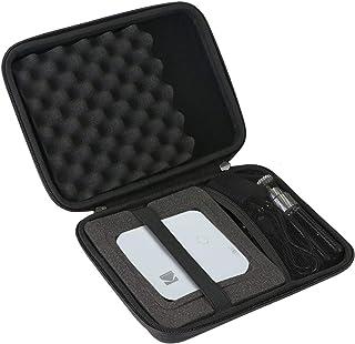 Khanka Hard Travel Case Compatible with Kodak Luma 150 / 350 Pocket Projector - Portable Movie Projector