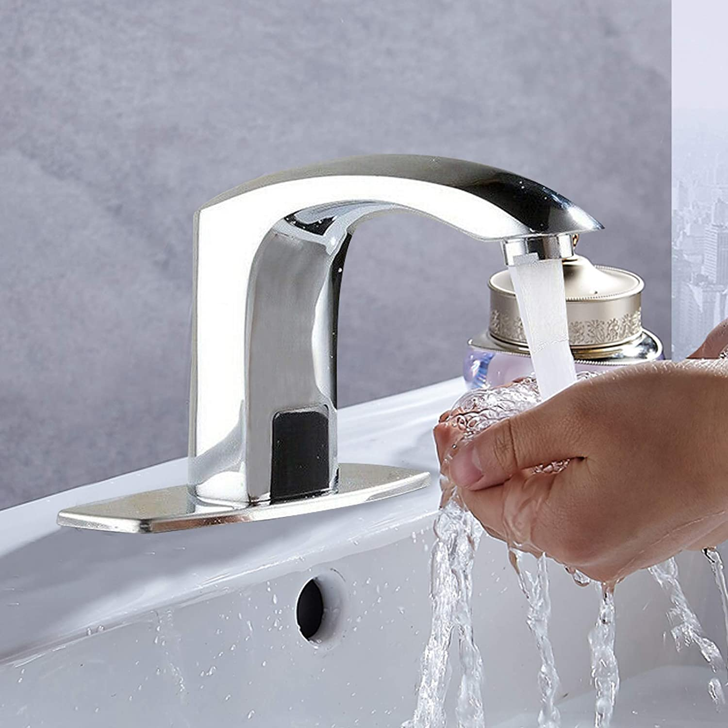 Hands Free Sensor Motion Touchless Electronic Faucet Automatic Max 67% OFF S It is very popular
