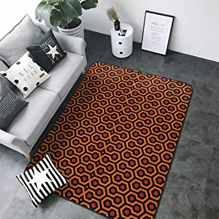 Soft Area Rug 5x7,The Shining Overlook Hotel Floor Carpet Mat 80x58 Inches for Living/Bedroom/Playing Room Home Decor