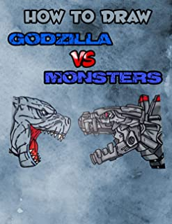 How to Draw Godzilla VS Monsters: The Strongest Monsters In The Godzilla Universe