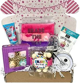 Spa Bath Bomb Birthday Theme Gift Basket Box Her-Women, Mom, Aunt, Sister or Friend