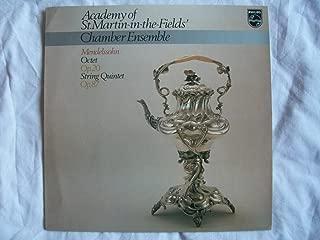 Mendelssohn : Octet Op. 20 _ String Quintet Op. 87 . Academy of St. Martin -in-the-fields Chamber Ensemble
