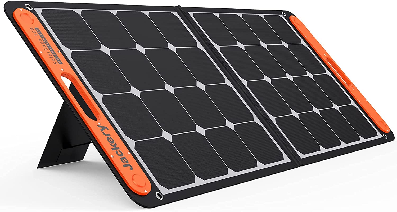 Jackery SolarSaga 100W Portable Solar Explorer At the price 2021new shipping free shipping 240 for Panel 300