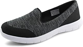 JABASIC Women Comfortable Slip on Walking Loafers Driving Flats Shoes