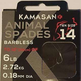 3 packs Kamasan animal spadend hooks size 14