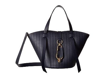 ZAC Zac Posen Belay Small Tote Perforation (Parisian Nights) Tote Handbags