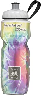 Polar Bottle Insulated Water Bottle, 20 oz, Tie Dye Surf