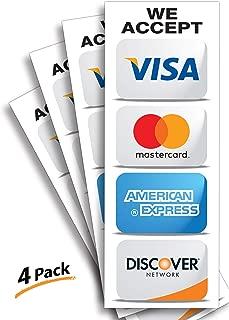 we take visa mastercard discover