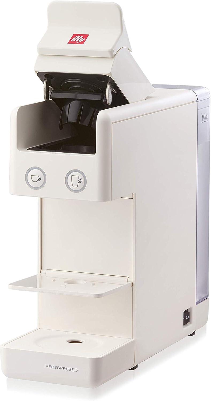 illy Kaffee, Kaffemaschine für Iperespresso Kapseln Y3.2 Rot Weiß