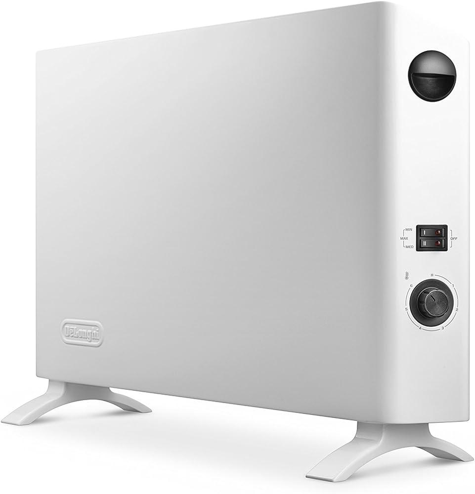 De`longhi,termoconvettore,termoventilatore slim style,con 3 livelli di potenza ,2000w, 1200w e 800w HSX 2320F