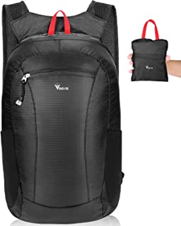 Voova Ultralight Backpack, Small Packable Foldable Hiking Travel Daypack Outdoor