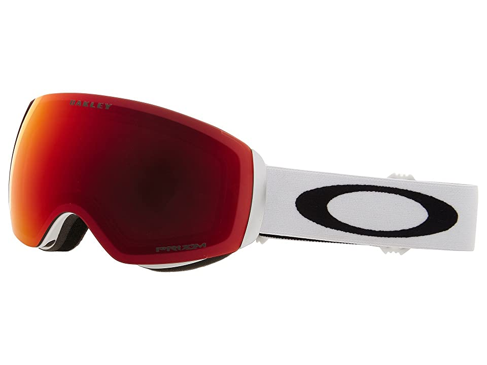 Oakley Flight Deck XM (Matte White/Prizm Torch Iridium) Sport Sunglasses