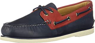 Sperry Men's O 2-Eye Tumbled. Nubuck Boat Shoe, Varies