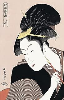 UKIYOE Japão series003: Ukiyo-e elegante imprime UTAMARO (UKIYOE Japão series004) (Portuguese Edition)