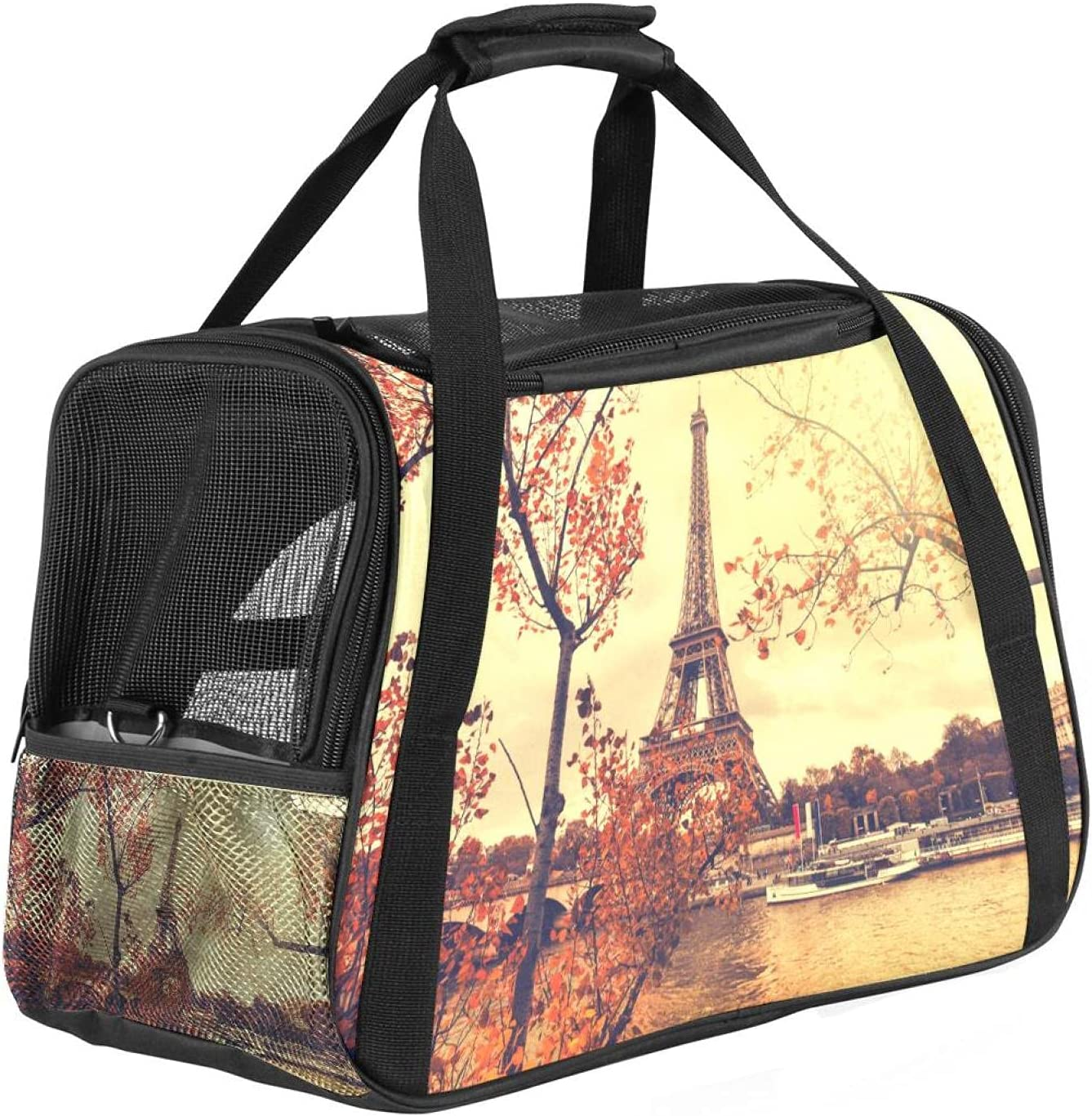 Clearance SALE Limited time Pet Carrier Super special price for Dog and Tra Cats Soft-Sided Approved Airline
