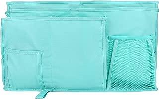 Storage Bag Can Set Bed Baby Bedside Hanging Book Bottle Phone Organizer Pocket Lake Blue