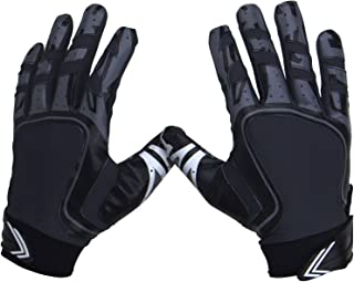 Pure Athlete Football Receiver Gloves – Elite-Stick Silicone Gripping Technology – Adult/Youth