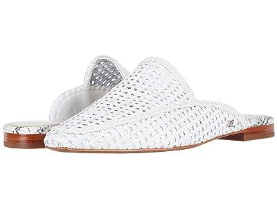 Sam Edelman Elva (Bright White Zebu Woven Leather) Women