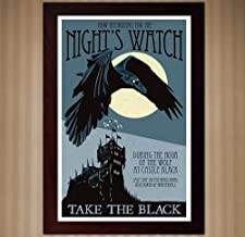 Night's Watch Recruitment Poster - Game of Thrones - 11x17