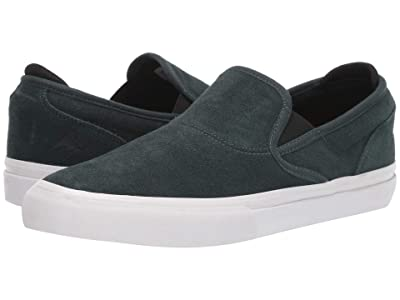 Emerica Wino G6 Slip-On (Green/White) Men