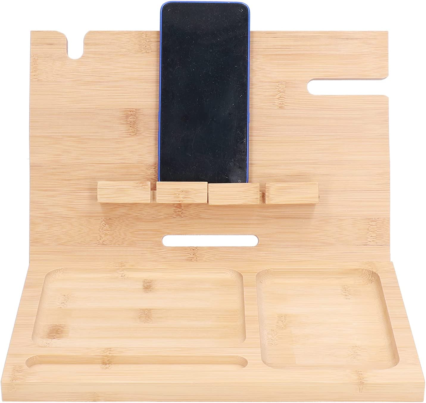 Zerodis Louisville-Jefferson County Mall Mobile Phone Stand Cell Bamboo favorite Multi‑ Wood